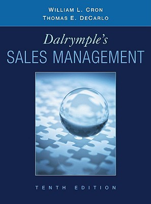 Dalrymple's Sales Management By Cron, William L./ Decarlo, Thomas E.